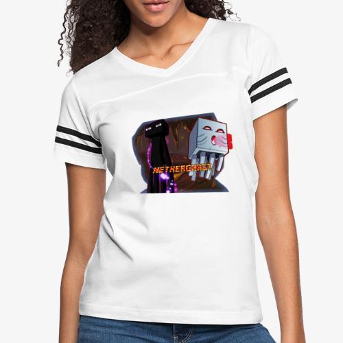NetherGhast Mascot - Women's Vintage Sport T-Shirt
