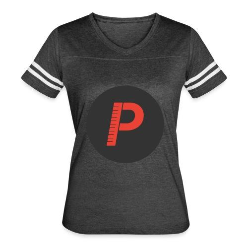 P - Women's Vintage Sport T-Shirt