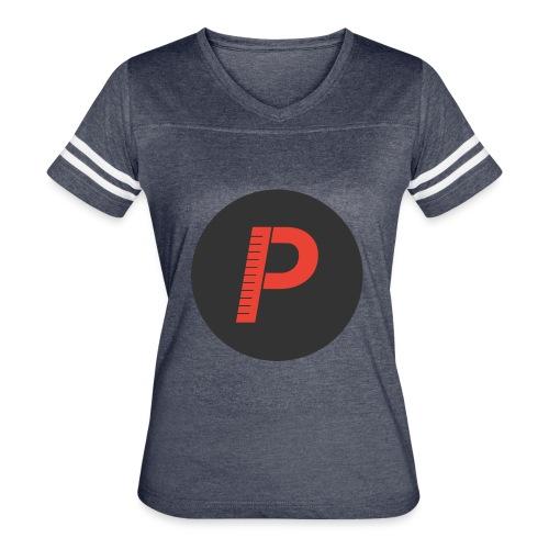 P - Women's Vintage Sports T-Shirt