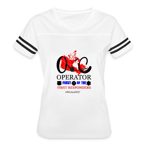 We Are OCC Plus Size - Women's Vintage Sport T-Shirt