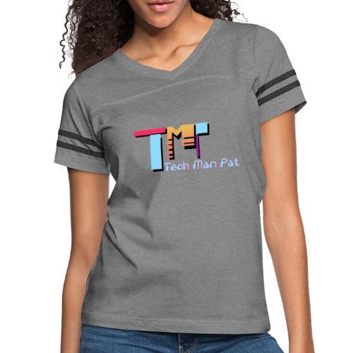 TechManPat Logo Large - Women's Vintage Sport T-Shirt