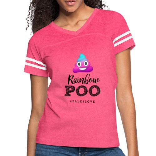 Rainbow Poo - Women's Vintage Sport T-Shirt