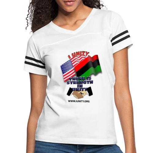us afro E02 - Women's Vintage Sport T-Shirt