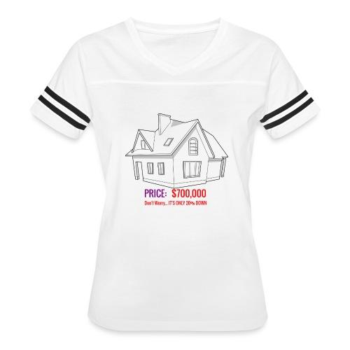 Fannie & Freddie Joke - Women's Vintage Sport T-Shirt