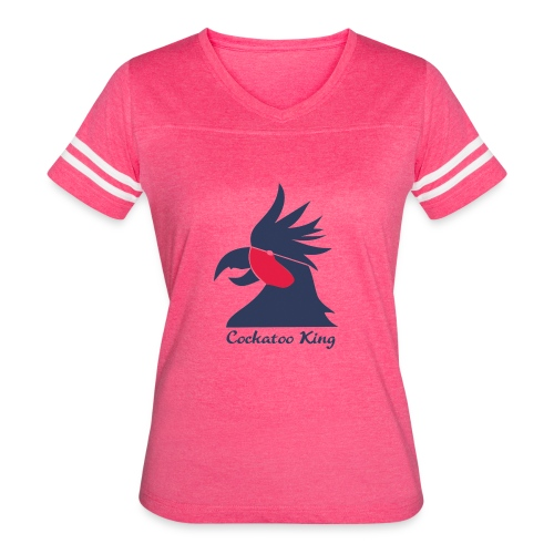 Cockatoo Logo - Women's Vintage Sport T-Shirt