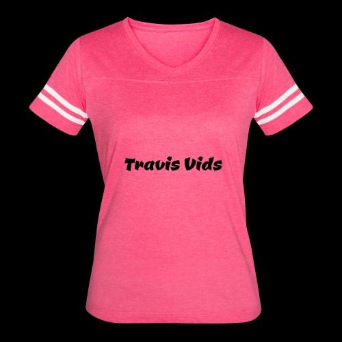 White shirt - Women's Vintage Sport T-Shirt