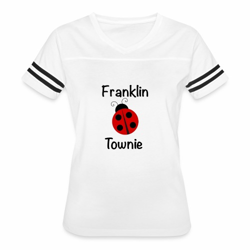 Franklin Townie Ladybug - Women's Vintage Sport T-Shirt