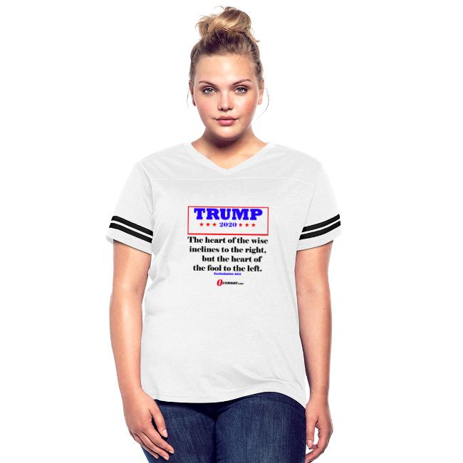 Trump 2020 Eccl 10 2 Black