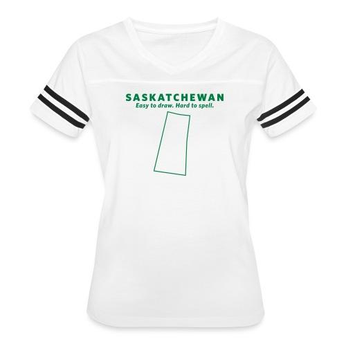 Saskatchewan - Women's Vintage Sport T-Shirt