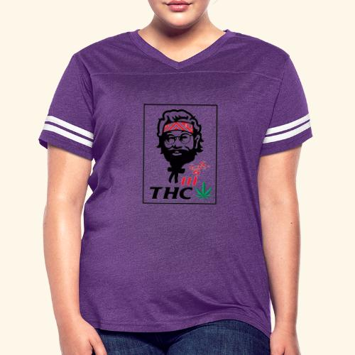 THC MEN - THC SHIRT - FUNNY - Women's Vintage Sport T-Shirt