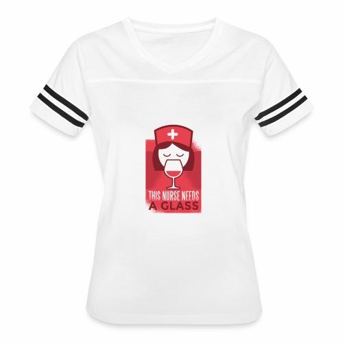 healthcare tshirt 003 HQ 01 - Women's Vintage Sport T-Shirt