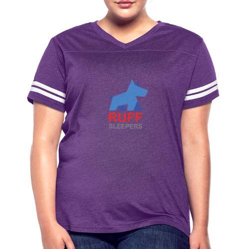 ruffsleepers logo 01 - Women's Vintage Sport T-Shirt