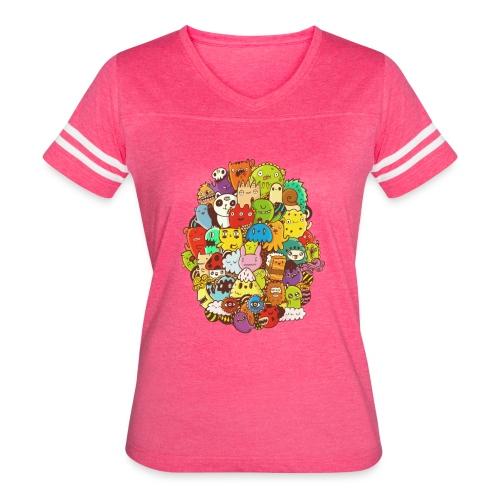 Doodle for a poodle - Women's Vintage Sport T-Shirt
