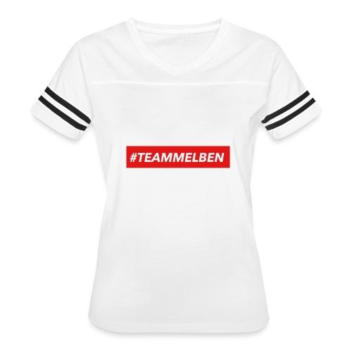 #TEAMMELBEN - Women's Vintage Sport T-Shirt