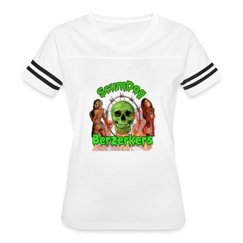 Scumdog Berzerkers - Women's Vintage Sports T-Shirt