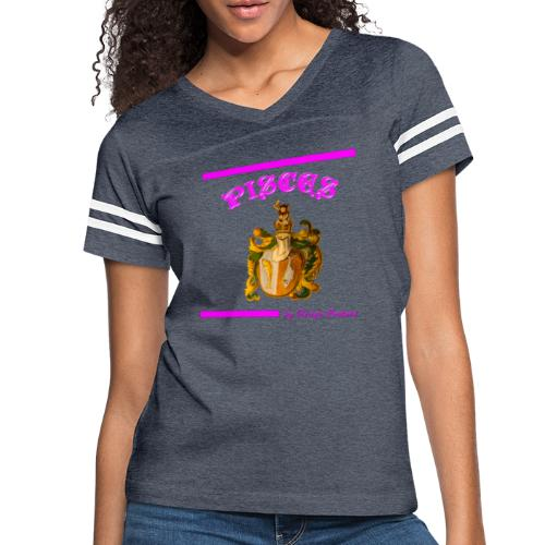 PISCES PINK - Women's Vintage Sport T-Shirt
