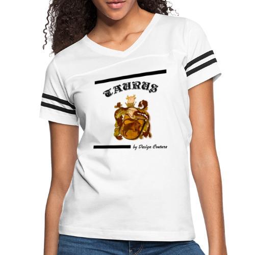 TAURUS BLACK - Women's Vintage Sport T-Shirt