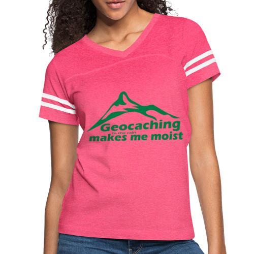 Geocaching in the Rain - Women's Vintage Sport T-Shirt