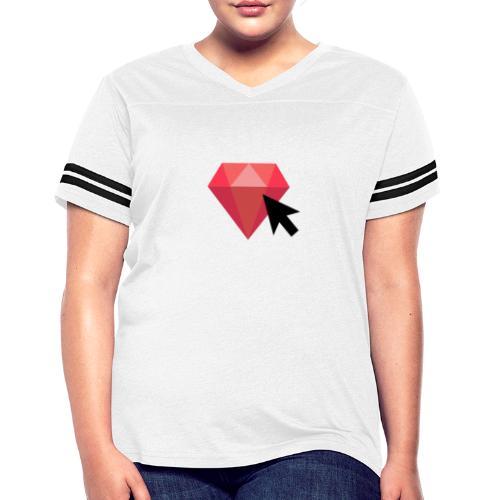 Select Ruby - Women's Vintage Sports T-Shirt