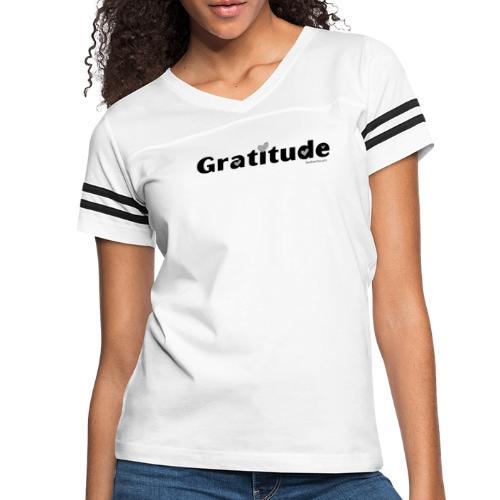 Gratitude - Women's Vintage Sport T-Shirt