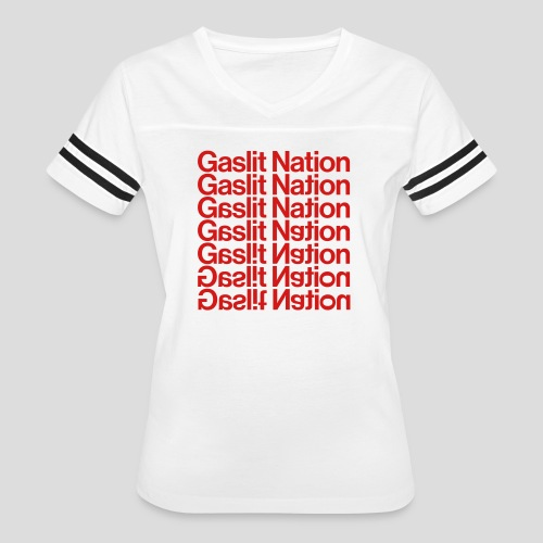 Gaslit Nation - Women's Vintage Sport T-Shirt