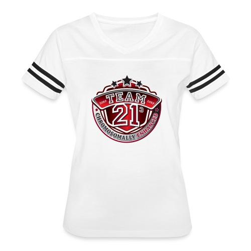 Team 21 - Chromosomally Enhanced (Red) - Women's Vintage Sport T-Shirt