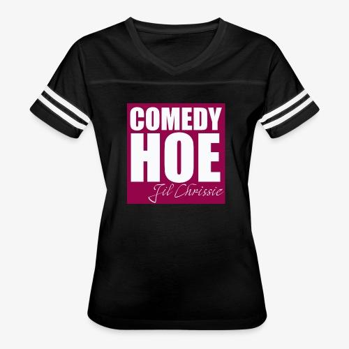 Comedy Hoe by Jil Chrissie - Women's Vintage Sport T-Shirt
