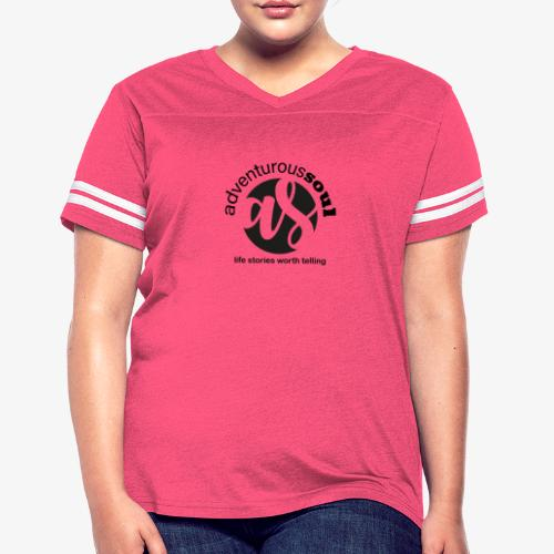 Adventurous Soul Wear - Life Stories Worth Telling - Women's Vintage Sport T-Shirt