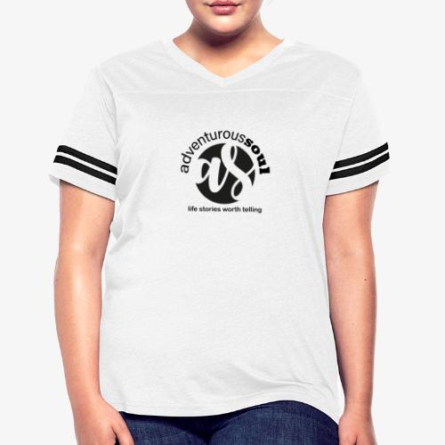 Adventurous Soul Wear - Life Stories Worth Telling - Women's Vintage Sports T-Shirt