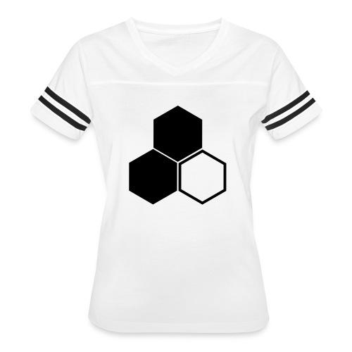 F3 Invisible Woman Logo - Women's Vintage Sport T-Shirt