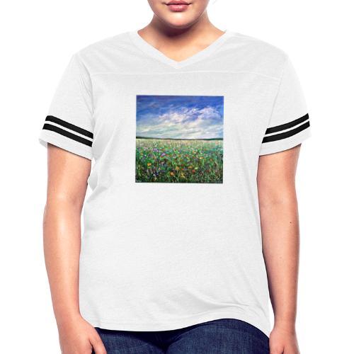 Field of Flowers - Women's Vintage Sports T-Shirt
