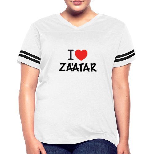 i love zaatar 1 - Women's Vintage Sports T-Shirt