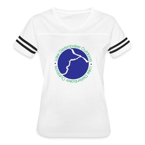 LDO WHITE LOGO - Women's Vintage Sport T-Shirt