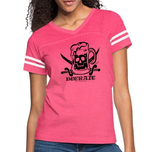 Beerate - black - Women's Vintage Sport T-Shirt