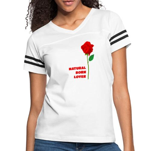 Natural Born Lover - I'm a master in seduction! - Women's Vintage Sport T-Shirt