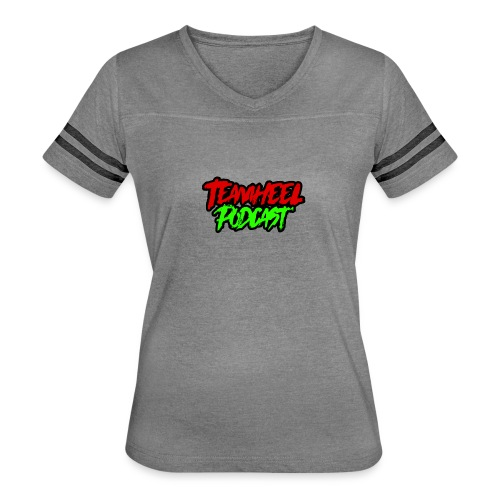 TEAMHEEL Podcast RedNGreen - Women's Vintage Sport T-Shirt