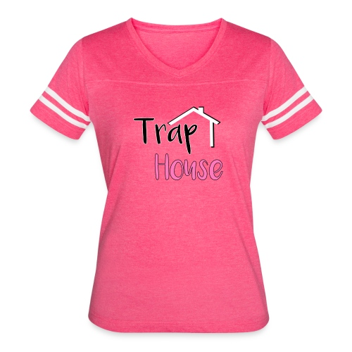 Trap House inspired by 2 Chainz. - Women's Vintage Sport T-Shirt