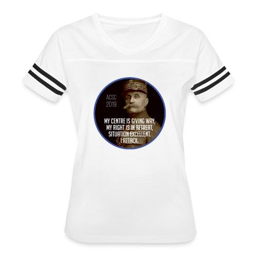 Foch: I Attack - Women's Vintage Sport T-Shirt
