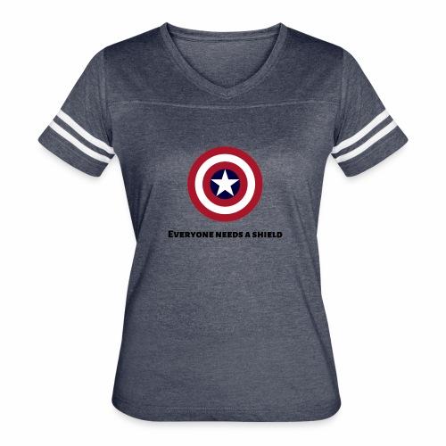 Captain America - Women's Vintage Sport T-Shirt