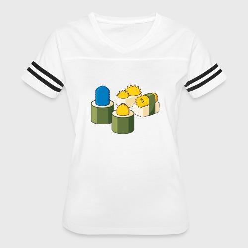 The Simpsons Sushi - Women's Vintage Sport T-Shirt