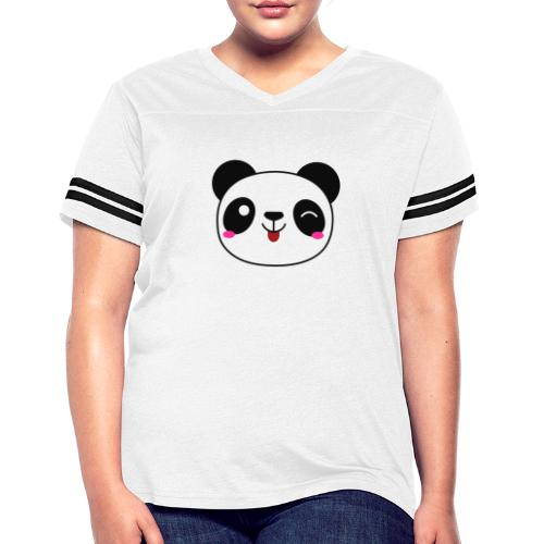 Panda T-Shirts and Hoodies for Men and Women - Women's Vintage Sport T-Shirt