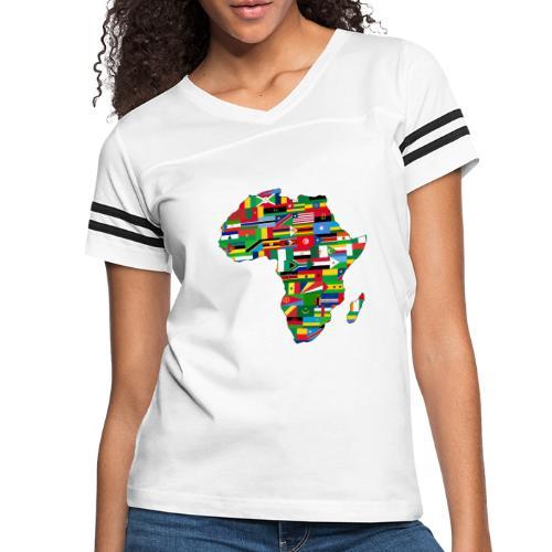 Motherland Africa - Women's Vintage Sports T-Shirt