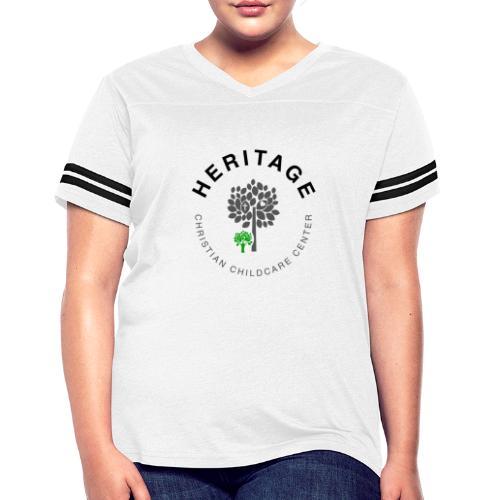 HCCC Front Logo - Women's Vintage Sports T-Shirt
