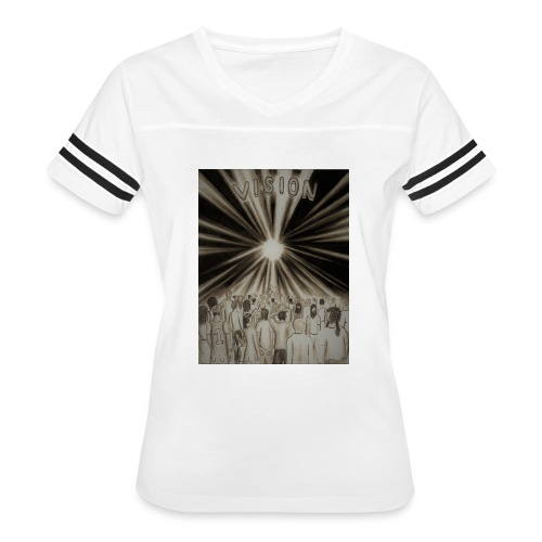 Black_and_White_Vision2 - Women's Vintage Sport T-Shirt