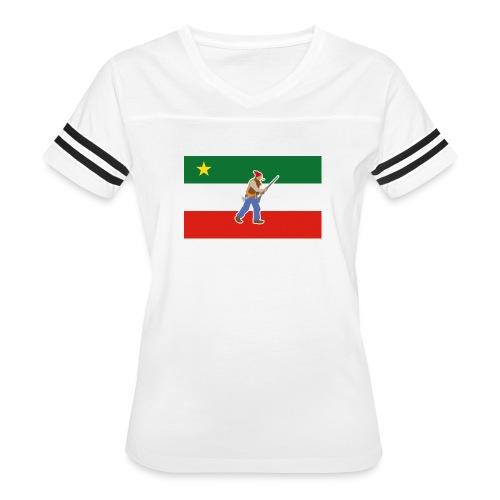 Vest of the Patriots - Women's Vintage Sport T-Shirt