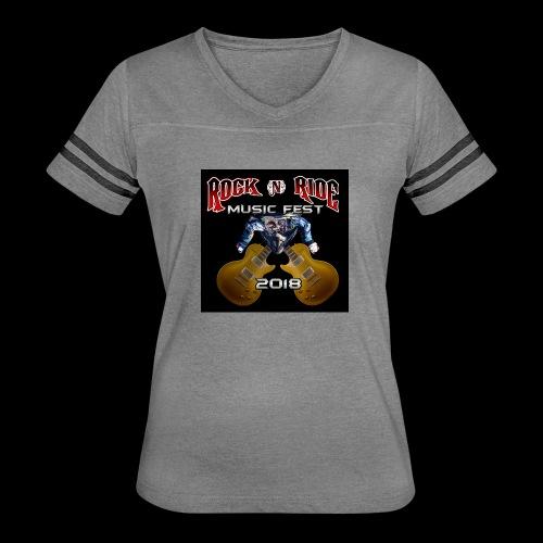 RocknRide Design - Women's Vintage Sport T-Shirt