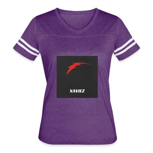 Youtube Channel Logo - Women's Vintage Sports T-Shirt