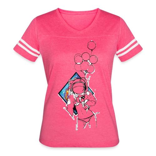 Astronaute - Art'Norme - Women's Vintage Sport T-Shirt