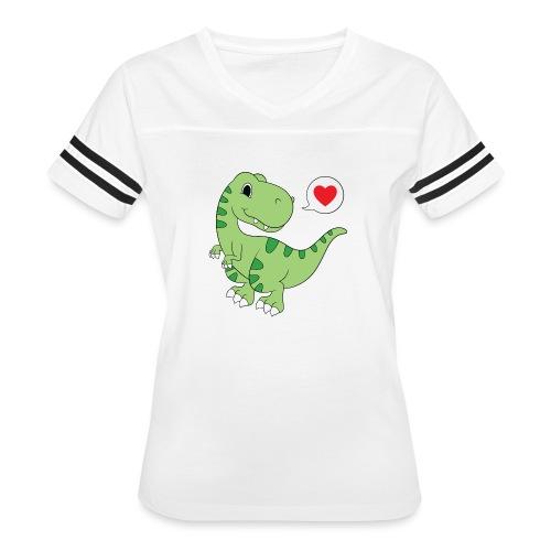 Dinosaur Love - Women's Vintage Sport T-Shirt