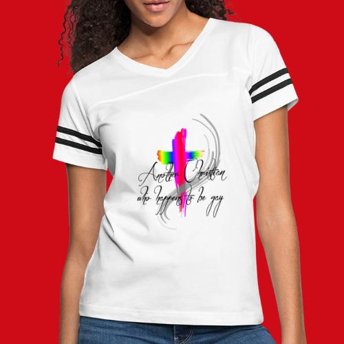 Another Gay Christian - Women's Vintage Sport T-Shirt